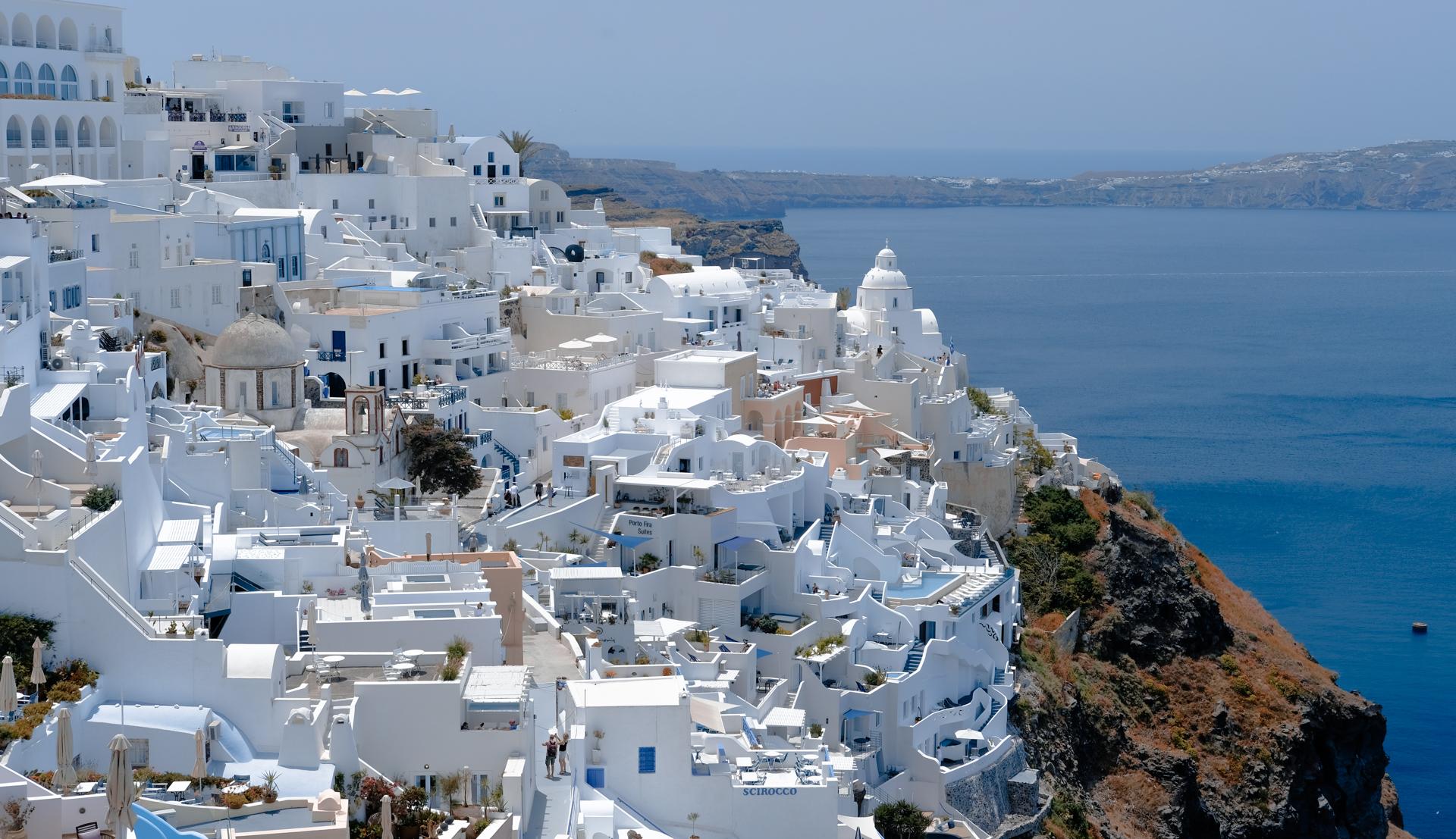 tłumacz w podróży – Santorini